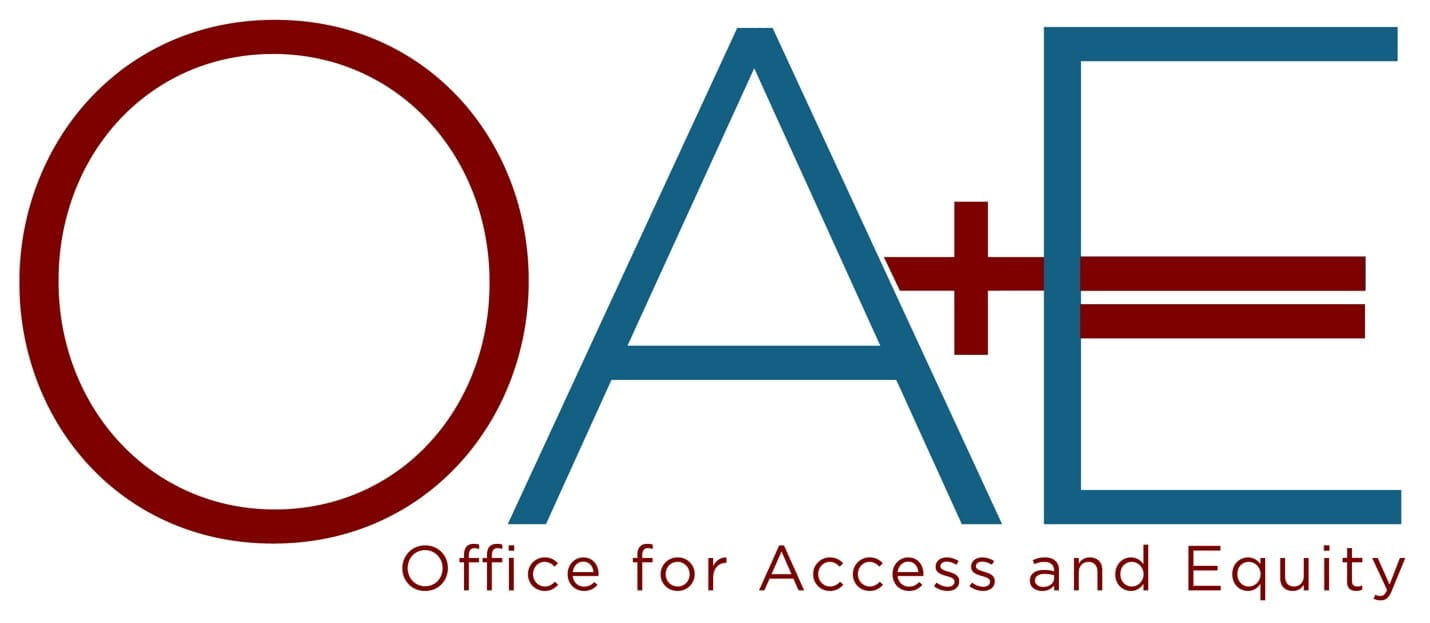 Office for Access and Equity Logo