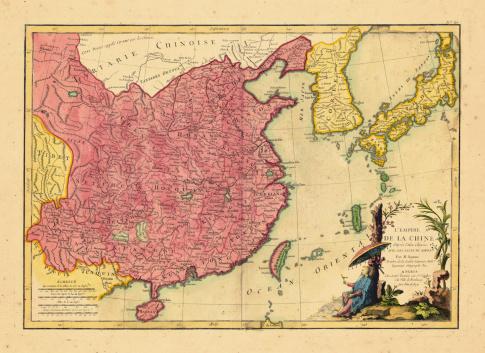 Asia, China, 1785
