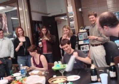 Sam, Dea, Laura, Liesje, Meredith, Pat, Matt, Max