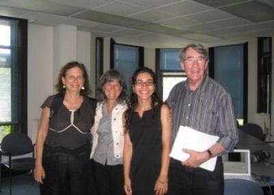 Susan L., Susan GM., Ece, David