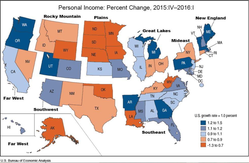 BEA - State Income Q1 2016
