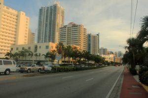 Miami Beach, FL street