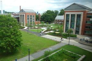 Main Quad of The University of Connecticut