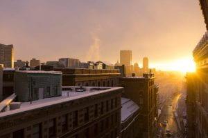 Cityscape of Boston, MA
