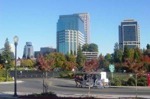 Sacramento from the Riverwalk photo