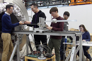 A road trip to test a magnetic cloak at Argonne National Laboratory
