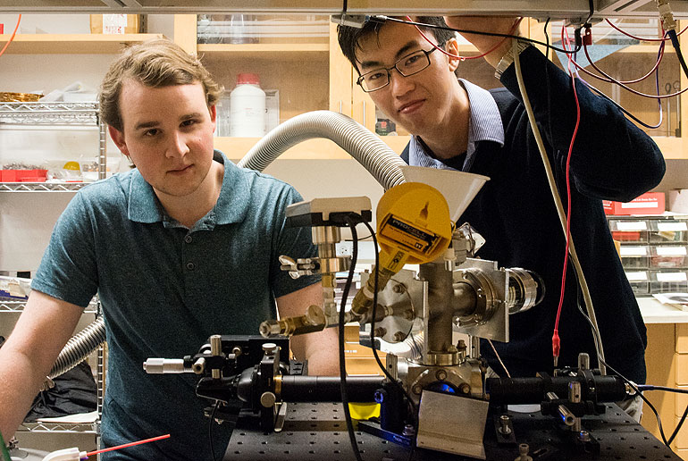 Undergrads achieve levitationbreakthrough