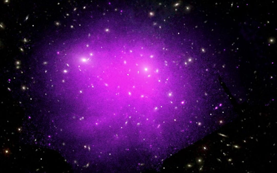Scientists use X-rays from faraway galaxy cluster to reveal secrets of plasma