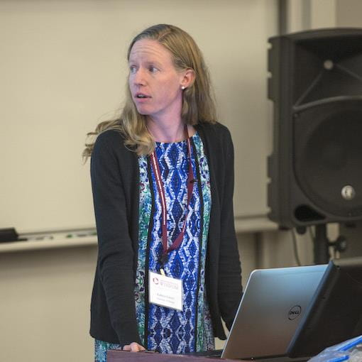 Ph.D. student Kathryn Schertz presents talk at Center for Practical Wisdom Research Forum about environmental influences on thought content