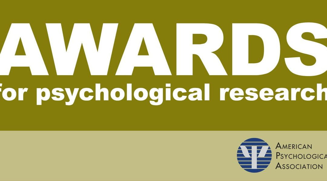 Professor Berman won APA Award for Distinguished Scientific Early Career Contributions to Psychology
