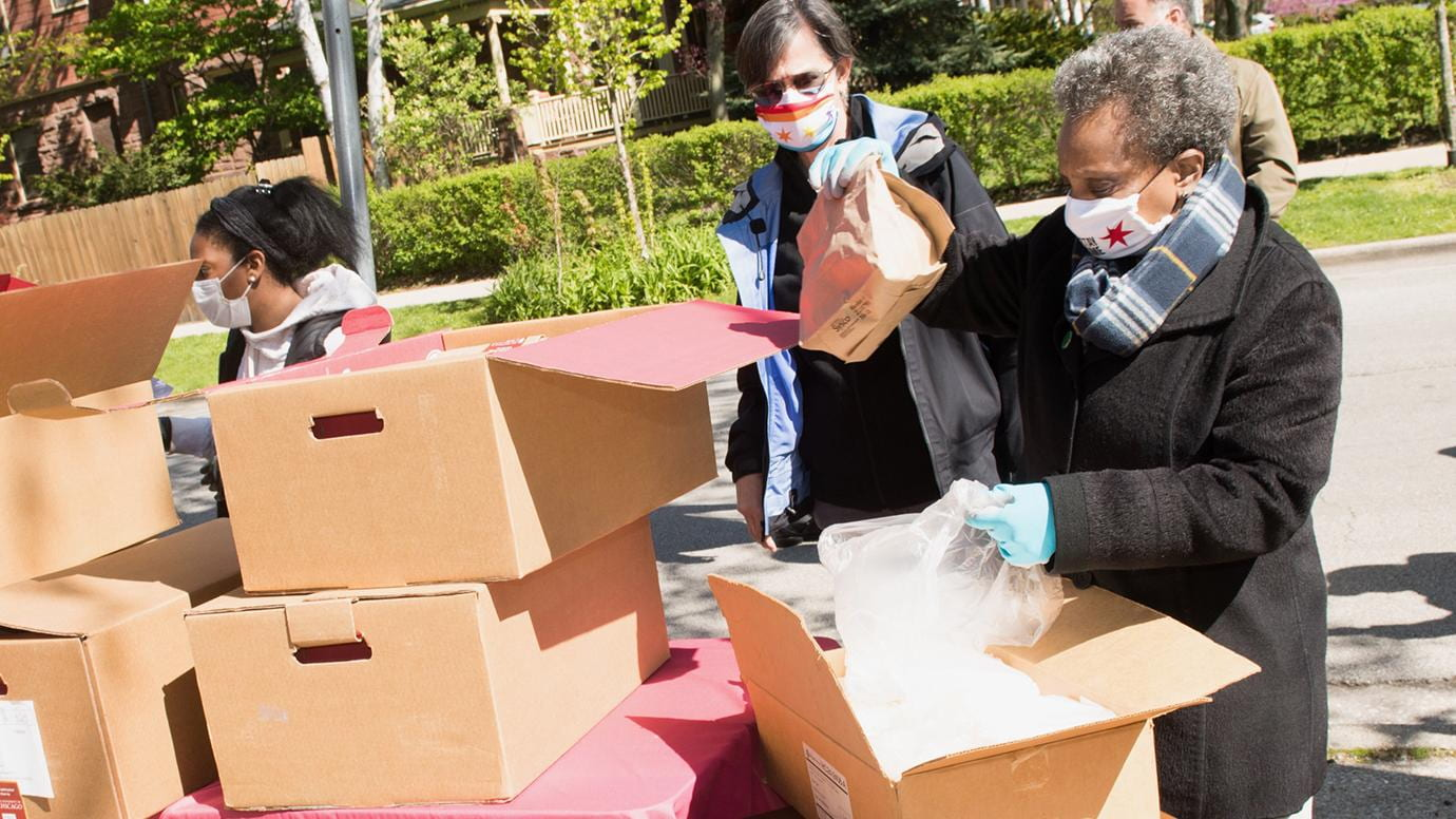 UChicago initiative to distribute food to South Side surpasses 150,000-meal mark