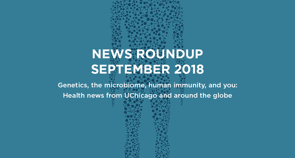 News roundup: September 2018