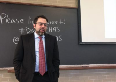 Michael M. Davis Lectures (Fall 2016)