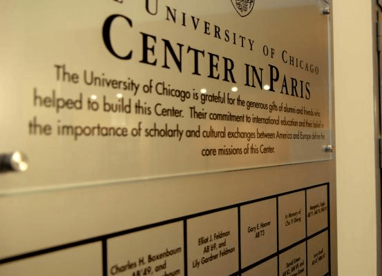CHAS at The University of Chicago Center in Paris