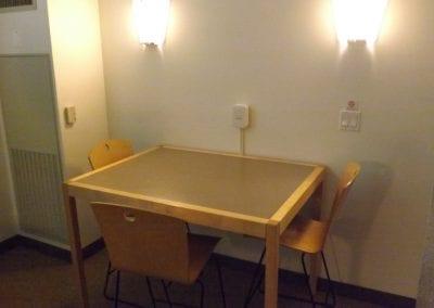 Renee Granville-Grossman Apartment Dining Area