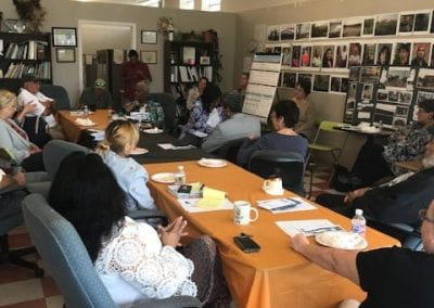 SETF hosts CACHET investigators and External Advisory Board on a toxic tour of the neighborhood and discussion (October 2018)