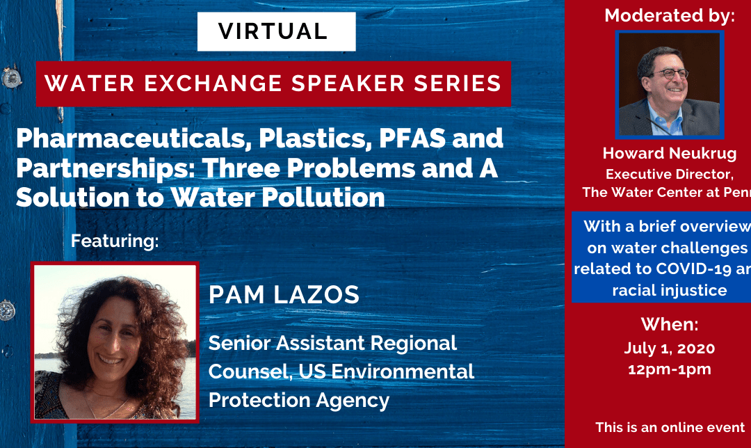 Water Exchange Speaker Series