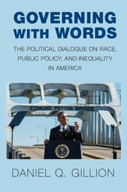 Book Cover (Governing with Words)