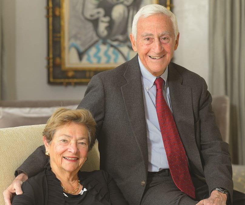P. Roy Vagelos, C'50, PAR'90, HON'99, and Diana T. Vagelos, PAR'90