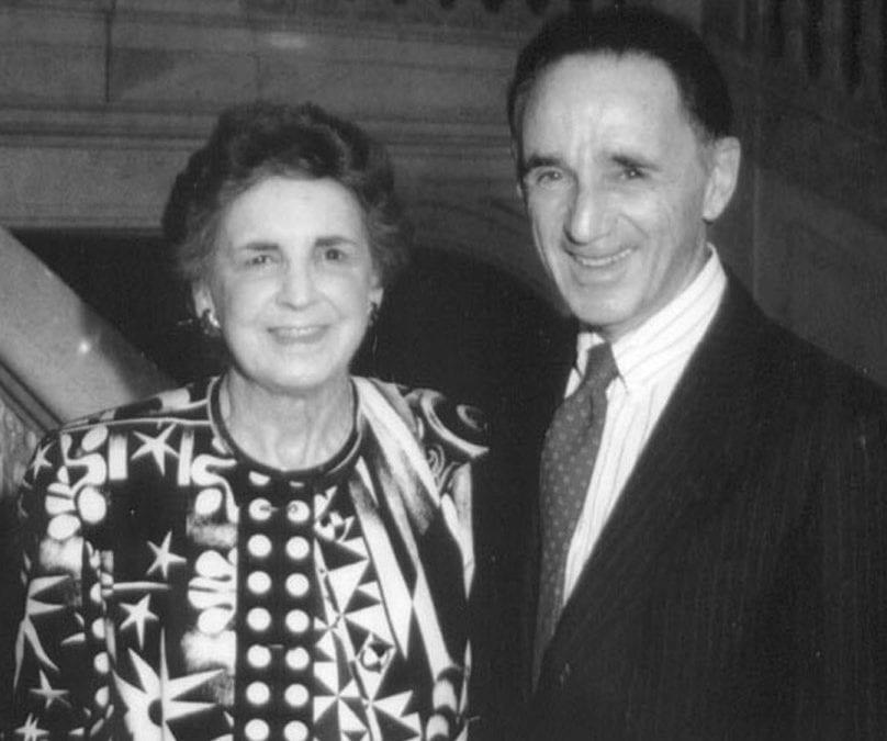 Herbert D. Katz, W'51, and Eleanor M. Katz