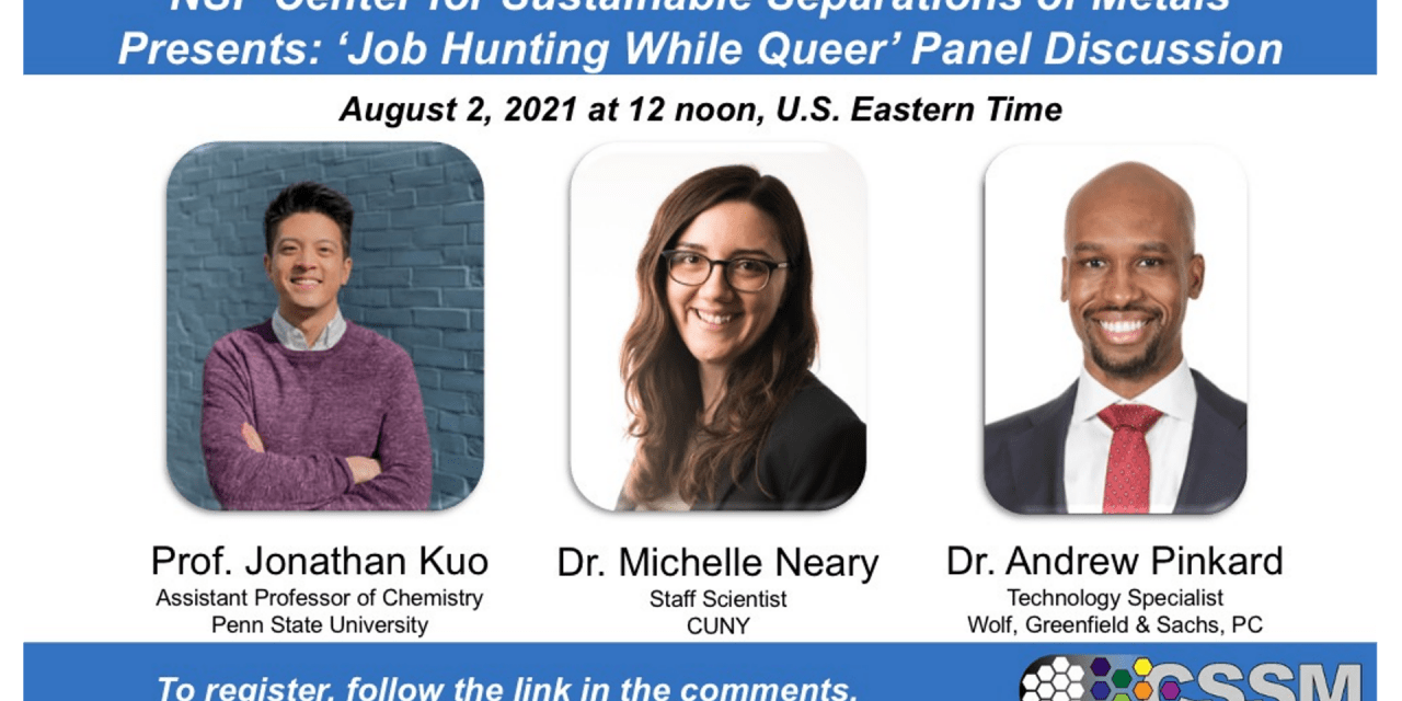 Job Hunting While Queer Panel