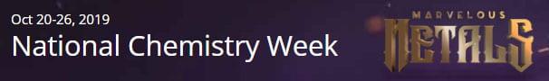 National Chemistry Week Marvelous Metals