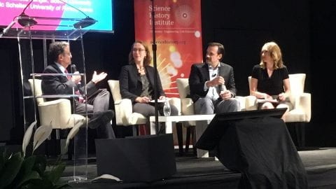 photo of the panel