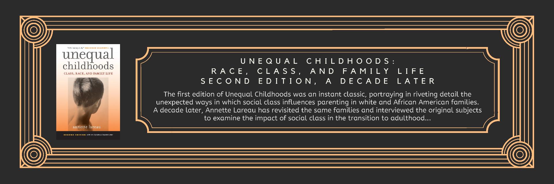 Book Unequal Childhoods