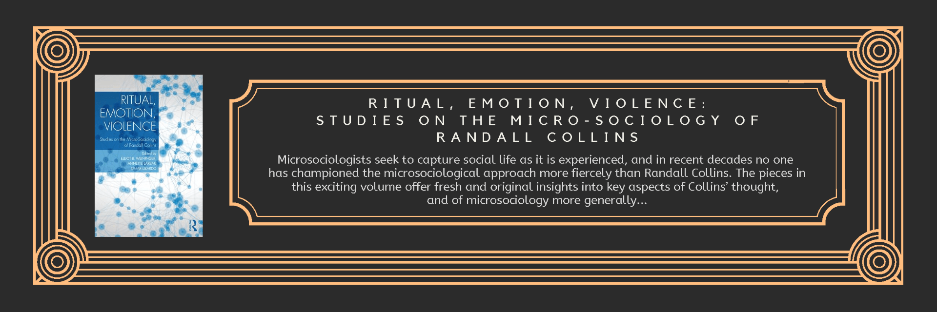 Book Ritual Emotion Violence
