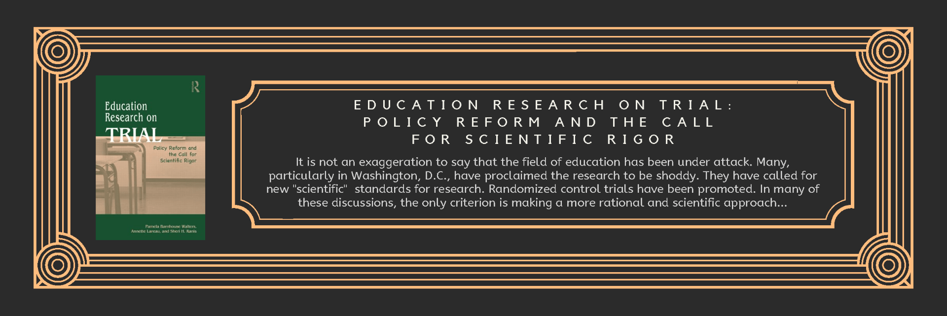 Book Educational Research
