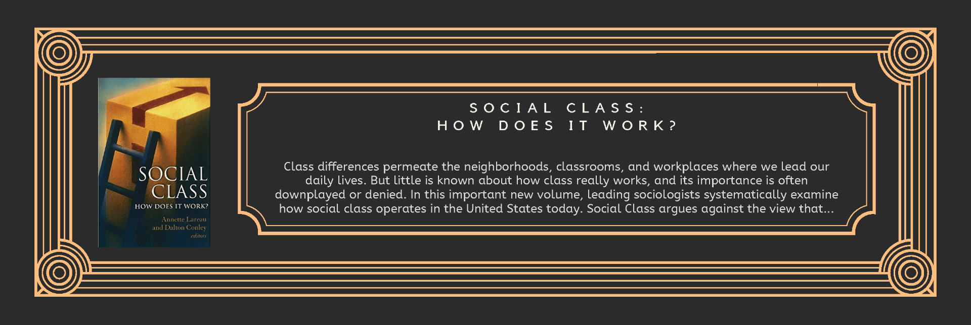 Book Social Class