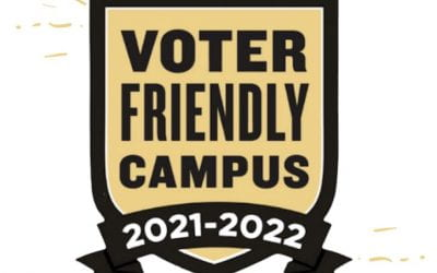 """Penn Retains """"Voter Friendly Campus"""" Designation for Second Time"""