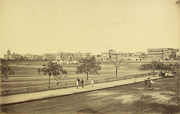 Esplanade in 1875-76