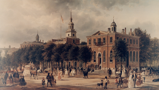 Philadelphia in June 1798