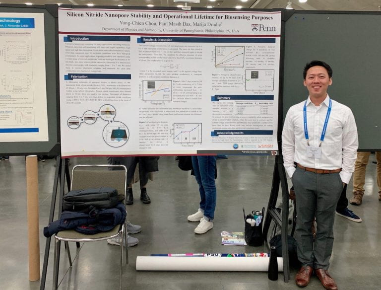 PhD candidate, Yung-Chien Killian Chou, helps develop new platform for DNA sequencing