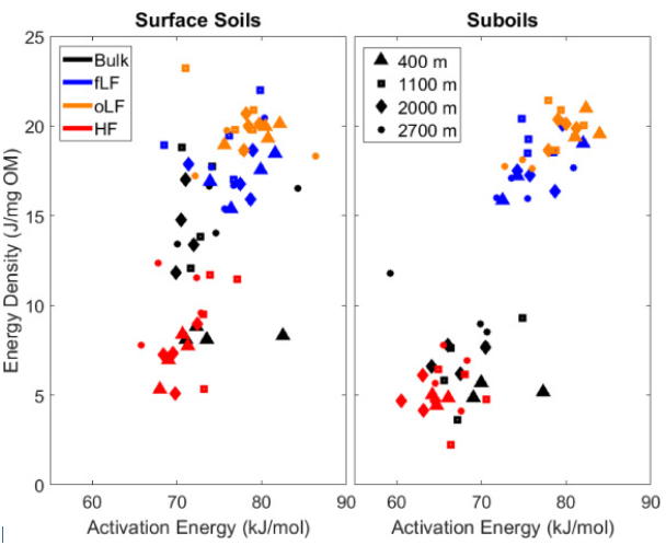 Just published: Distinct bioenergetic signatures in particulate versus mineral-associated soil organic matter
