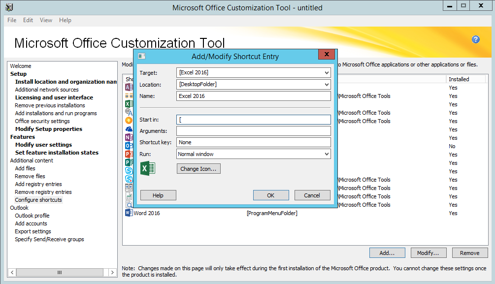 Automate the Install of Microsoft Office 2016 with an MSP