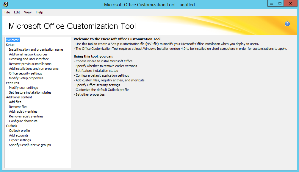 Automate The Install Of Microsoft Office 2016 With An Msp File