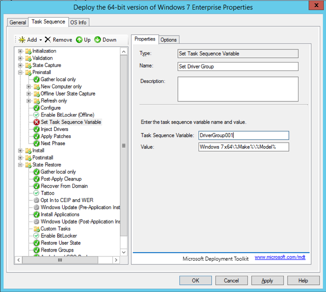 Creating Task Sequences for MDT | Jason Watkins