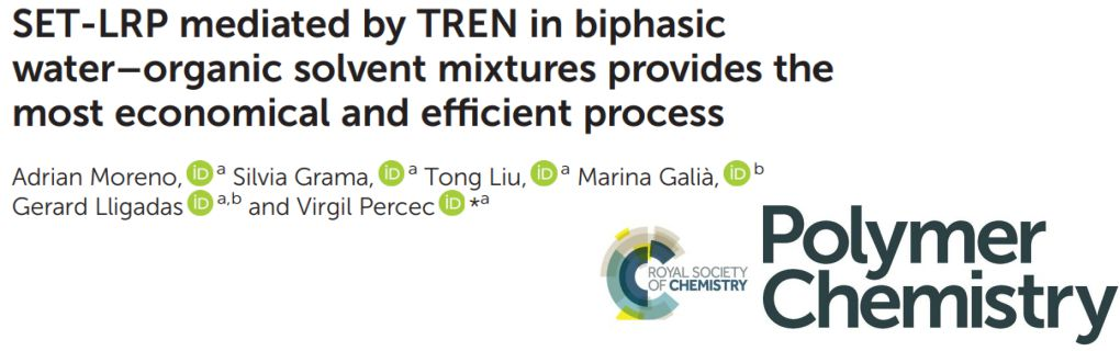 New Work Uses Cheaper TREN as Ligand for SET-LRP