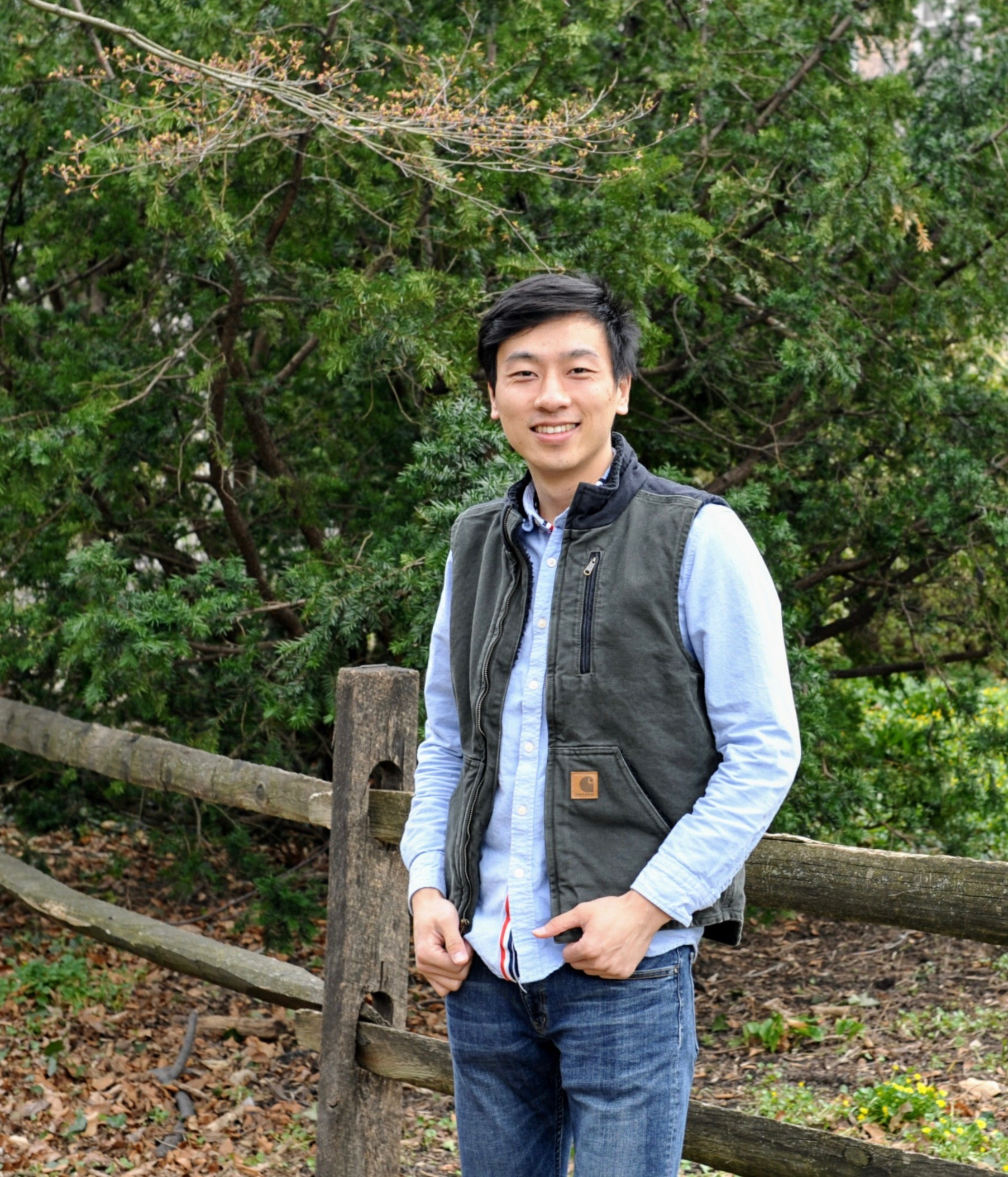 post doc dr yang zhu joins the lab