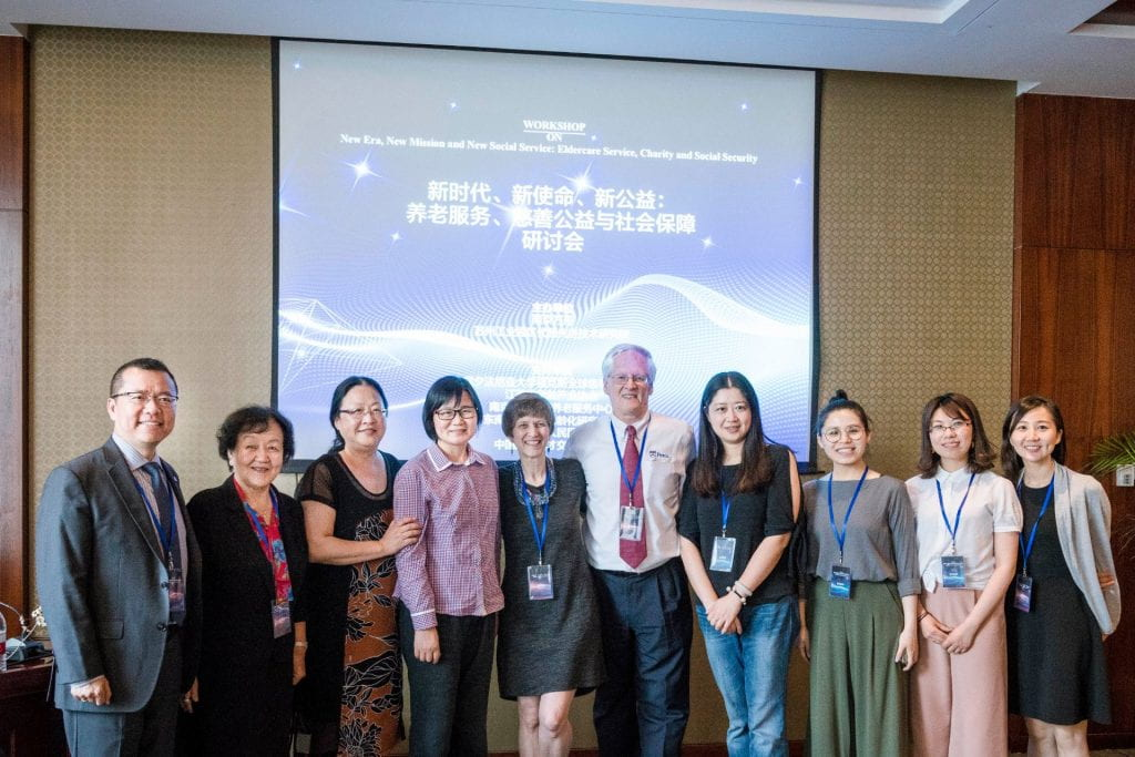 FLI Team with Sister Maria, Weiping & Attendees