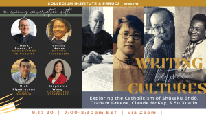 Writing Between Cultures_ Exploring the Catholicism of Shūsaku Endō, Graham Greene, Claude McKay, and Su Xuelin