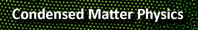 Condensed Matter Physics button