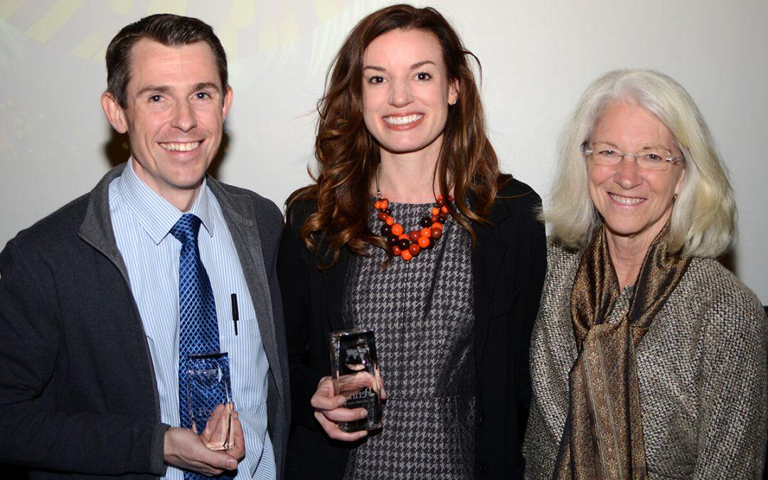 Drs. Charles Bradley and Elizabeth Grice Receive 2017 One Health Award