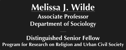 Melissa J. Wilde