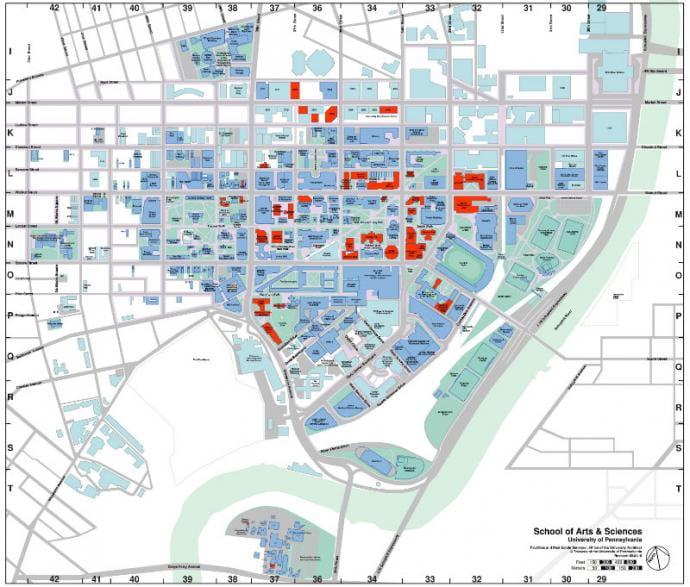 SAS Campus Map