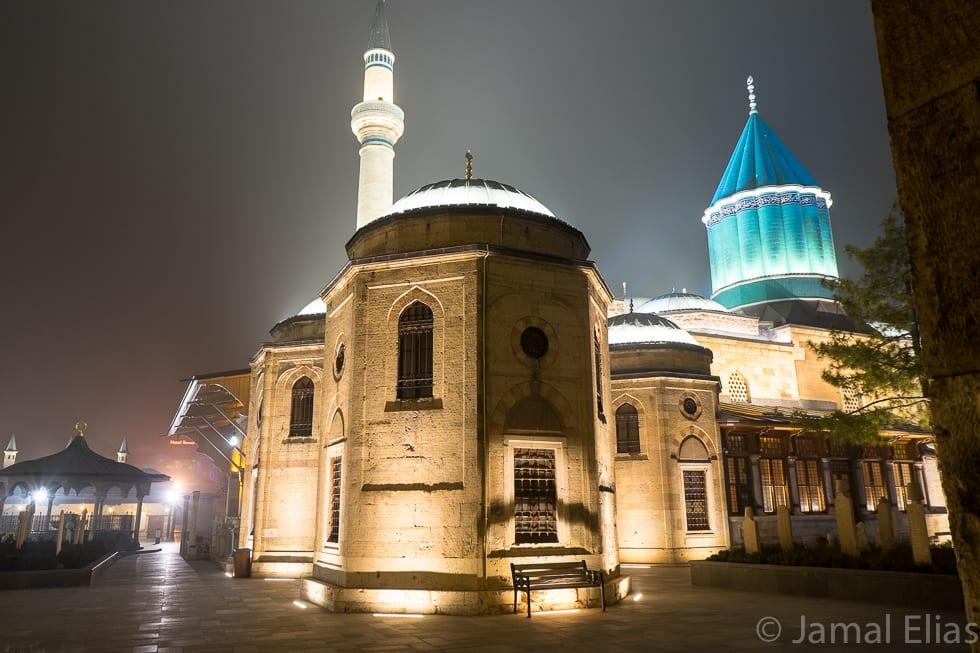 Rumi's shrine, Konya, Turkey