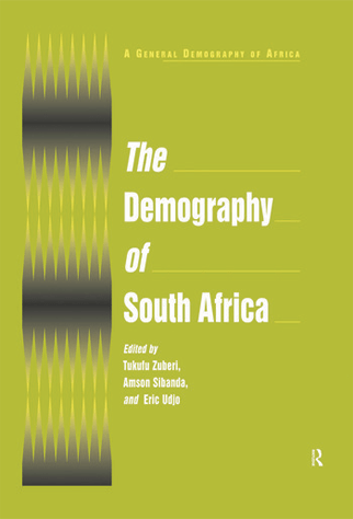 book cover of the demography of south africa
