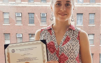 Anna Gams Wins APS Abstract Travel Award